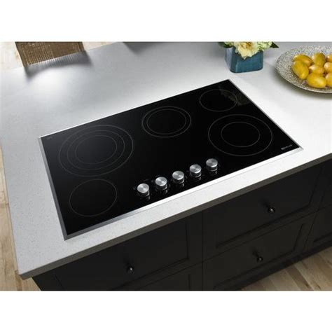36 inch electric cooktop jec3536bs 36 inch electric radiant cooktop