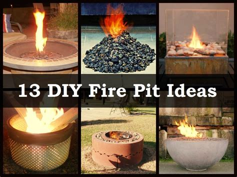 Awesome Diy Fire Pit Ideas