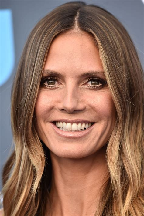 heidi klum critics choice awards