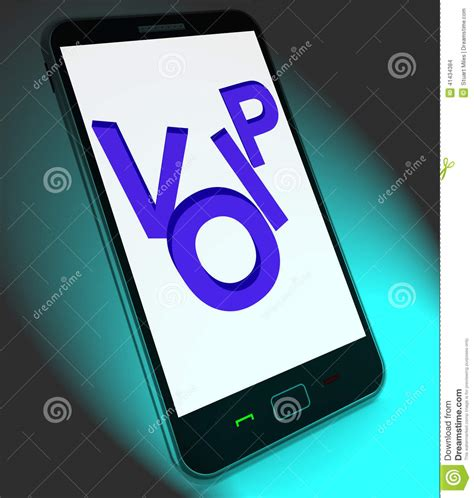 mobile protocol voip on mobile shows voice protocol or ip