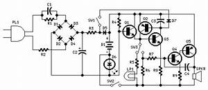 Emergency Light And Alarm Circuit