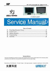 Compaq Hp Wf1907 Sm Service Manual Download  Schematics  Eeprom  Repair Info For Electronics Experts