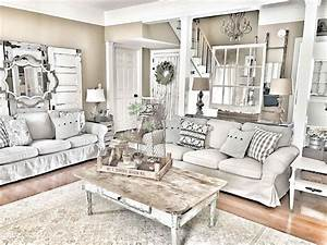 coastal farmhouse living room - ARCH DSGN