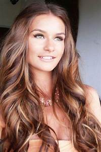 Golden Brown Hair Color Pictures