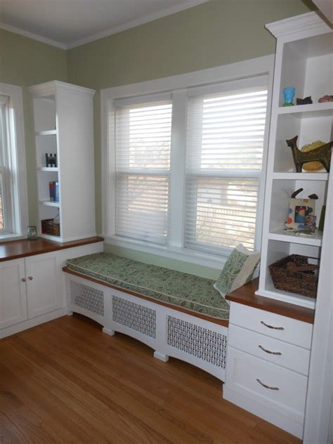 sunroom makeover traditional home office chicago