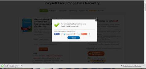 free iphone data recovery oferta iskysoft free iphone data recovery pplware
