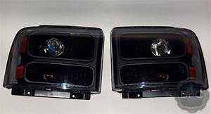 2007 Ford F250 Superduty Complete Hid Projector Conversion