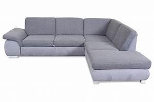 Ecksofa Grau Mit Schlaffunktion : ecksofa mit schlaffunktion grau mit federkern sofas ~ Whattoseeinmadrid.com Haus und Dekorationen
