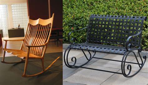 rocking chair at modern interior