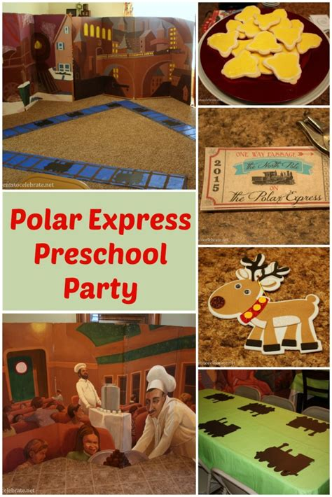 polar express party  preschool