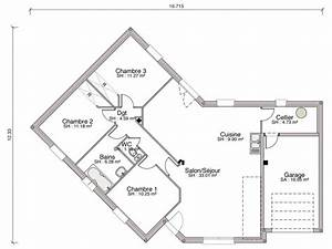plan d une maison de 120m2 6 construction maison With good plan de maison 120m2 1 plan de maison ossature bois plain pied 28 images