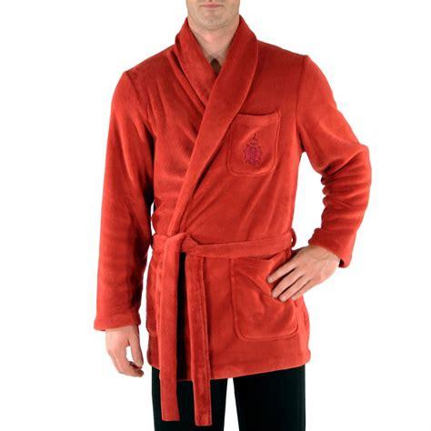 veste de chambre homme veste d 39 intérieur christian en velours à col