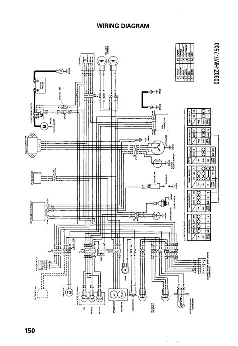 1996 honda 300ex wiring diagram honda 300ex ignition