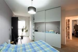 Grand Miroir Chambre : dressing de chambre avec grand miroir sk concept ~ Teatrodelosmanantiales.com Idées de Décoration