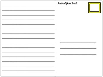 Postcard Template By Teaching For Tomorrow Teachers Pay Postcard Template Business Mentor