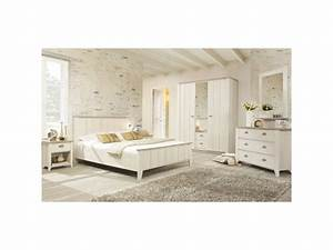 chambre adulte complete 140190 helene l 149 x l 199 With conforama chambre complete adulte