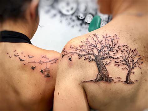Mom Daughter Tattoos Small