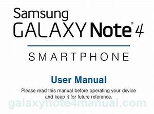 Samsung Galaxy Note 4 Manual User Guide And Instructions