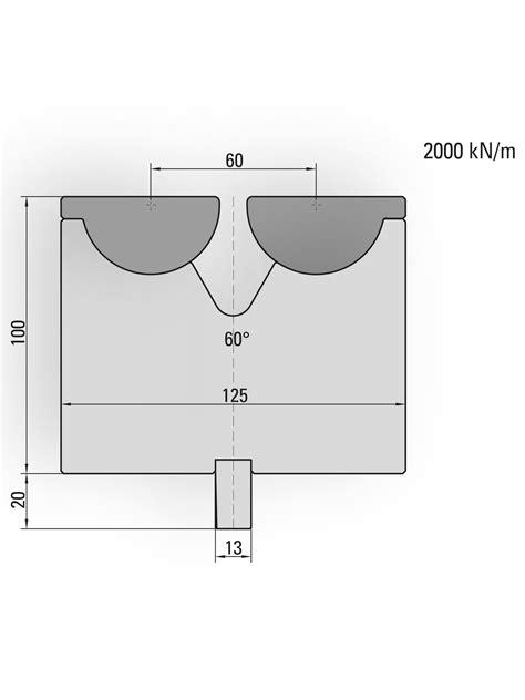 29.600 Press brake tool - UKB