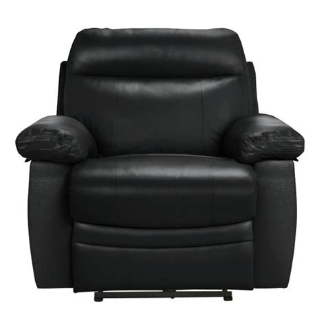 buy collection  paolo power recliner chair black