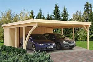 Holzgarage Mit Carport : carport selber bauen anleitung bauplan co ~ Markanthonyermac.com Haus und Dekorationen