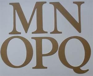 4quot elegant font large alphabet chipboard letters die for Extra large chipboard letters