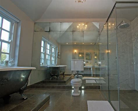 Mirror Tiles Bathroom by Bathrooms Mirrorworks Antique Mirror Glass From