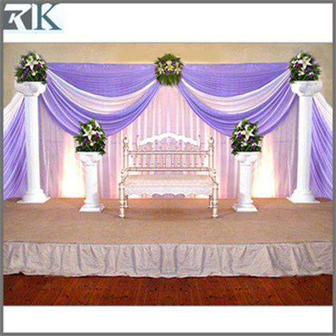 Indoor Hall Wedding Stage Decoration Buy Flower Stage