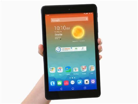 at t android tablet at t unveils trek hd 4g lte 1st android lollipop tablet