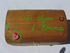 Coffre à Bijoux Bois : jouets bois coffre bijoux personnalis sur commande ~ Premium-room.com Idées de Décoration