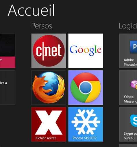 icones bureau windows 8 comment trouver les icones windows