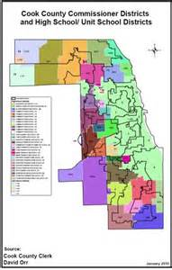 Cook County School District Map