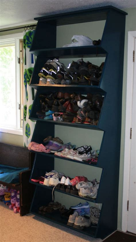 Shoe Rack Garage by Garage Shelf Plans Ceiling Woodworking Projects Plans