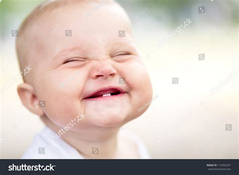 Beautiful Smiling Cute Baby Stock Photo 115992457