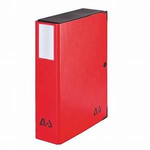 Boite De Classement Carton : bo te de classement carton plastifi arianex dos 8 cm rouge ~ Teatrodelosmanantiales.com Idées de Décoration