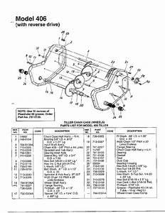 Mtd Rear Tine Tiller Tiller Chain Case Page 2 Parts