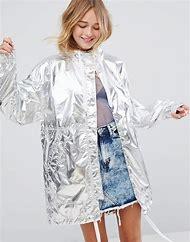 Metallic Anorak Jacket
