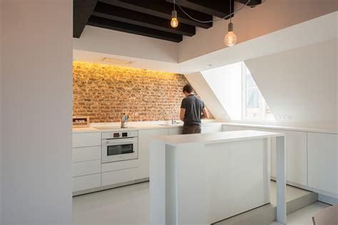 meubles de cuisine sur mesure appartement sous combles comment créer une cuisine ou un