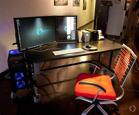 desk for 2 monitors 18 really amazing computer stations twistedsifter