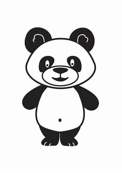 Panda Coloriage Telechargez Grande