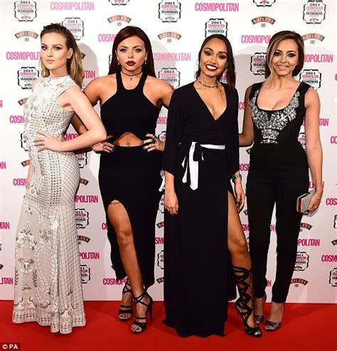 Red Carpet World Of Goo by Little Mix S Perrie Edwards Stands Out At The Cosmopolitan