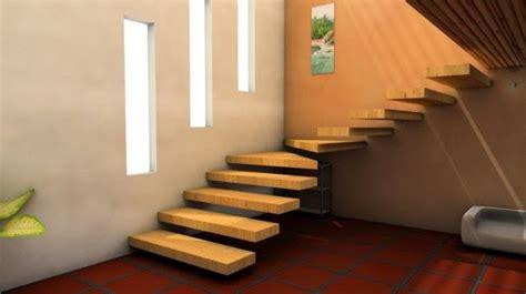 desain tangga rumah unik melayang desain rumah griya