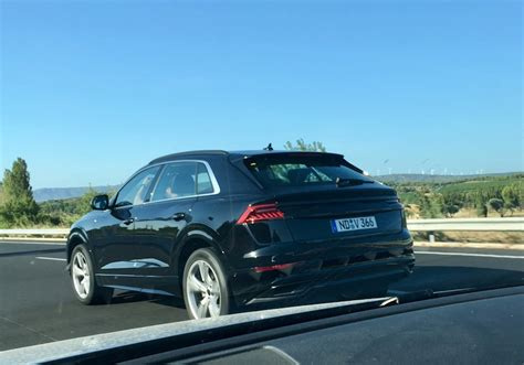 Audi Q8 2020 by Say Hello To The 2020 Audi Q8 Camouflage Free