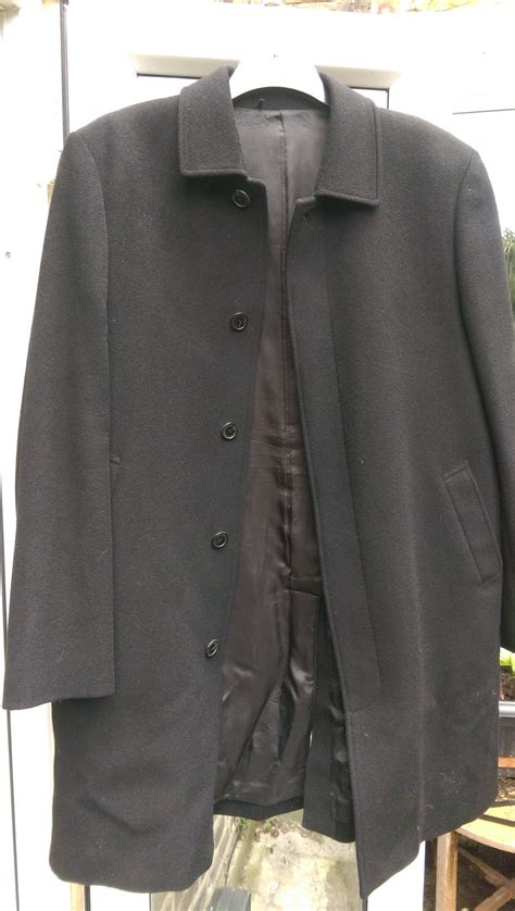 austin reed wool overcoat hewi