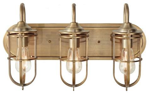 Bathroom Vanity Light Fixture by Renewal 3 Light Bathroom Fixture Industrial
