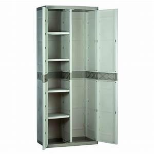 Armoire Rangement Plastique : armoire de rangement plastiken 70 penderie ~ Teatrodelosmanantiales.com Idées de Décoration