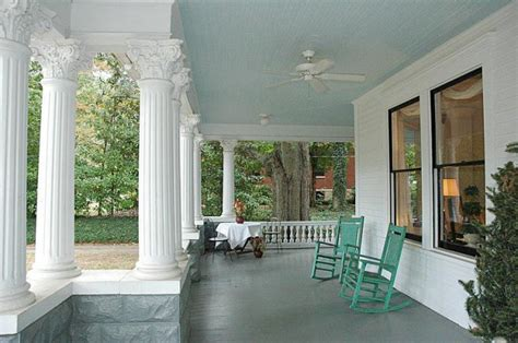 Porch Paint Colors by Paint Your Porch Ceiling Haint Blue