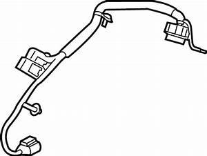 Cadillac Xt5 Differential Lock Wiring Harness  W  Awd  W