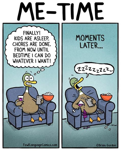 Me Time Meme - 15 hilarious parenting comics that are almost too real hilarious comic and parents