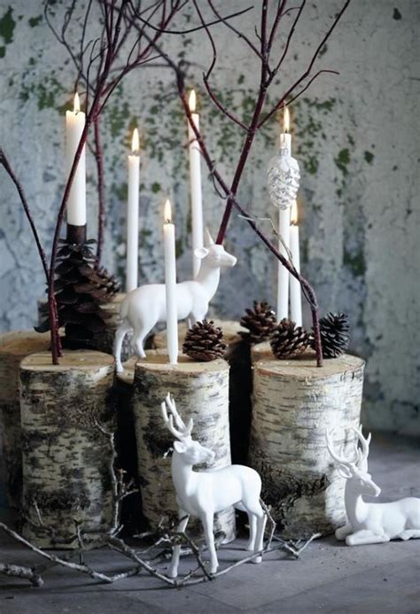 natural and simple christmas center decor ideas my desired home